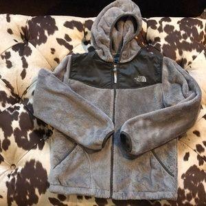 The North Face full zip fleece hoodie